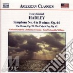 Symphony no.4 the ocean cd musicale di HADLEY HENRY KIMBALL