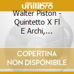 Chamber music cd musicale di PISTON