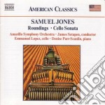 Roundings, cello sonata cd musicale di Samuel Jones
