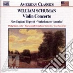 Violin concerto cd musicale di William Schuman