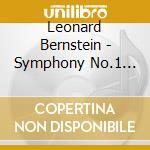 Symphony no.1 jeremiah cd musicale di BERNSTEIN