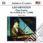 Ornstein Leo - Sonata X Pf N.4, N.7, Morning In The Woods, Danse Sauvage, Impressions Of The Th cd musicale di Leo Ornstein