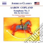 Billy the kid (suite), sinfonia n.3 cd musicale di Aaron Copland