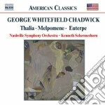 Ouvertures and tone poems cd musicale di Chadwick george whit