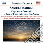 Opere per orchestra (integrale) vol.6: c cd musicale di Samuel Barber
