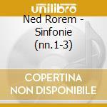 Three symphonies cd musicale di ROREM
