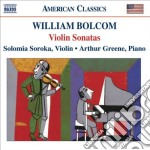 Sonate per violino cd musicale di William Bolcom