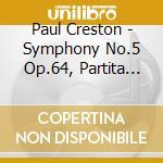 Symphony no.5 cd musicale di CRESTON