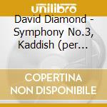 Symphony no.3 cd musicale di David Diamond