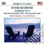 Symphony no.8 cd musicale di David Diamond