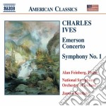 Ives Charles Edward - Sinfonia N.1, Emerson Concerto cd musicale di Charles Ives