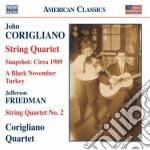 Snapshot - circa 1909, quartetto per arc cd musicale di John Corigliano