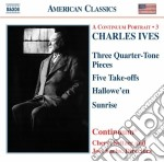 Take-offs (nn.1-5), 3 quarter-tone piece cd musicale di Charles Ives