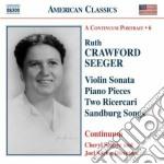 Crawford Seeger Ruth - Musica Vocale E Da Camera cd musicale di Crawford seeger ruth