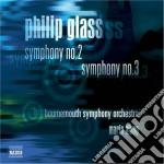 Sinfonia n.2, n.3 cd musicale di Philip Glass