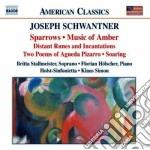 Schwanter Joseph - Musica Da Camera cd musicale di Joseph Schwanter