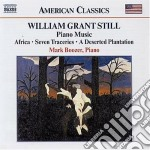 Opere per pianoforte cd musicale di Still william grant