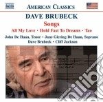 Songs cd musicale di Dave Brubeck