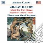 Music for two pianos cd musicale di William Bolcom