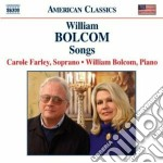 Songs cd musicale di William Bolcom