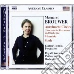 Brouwer Margaret - Aurolucent Circles, Mandala, Remembrances, Sizzle, Pulse cd musicale di Margaret Brouwer
