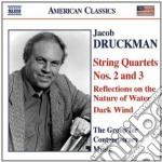 Quartetto per archi n.2 e n.3, reflectio cd musicale di Jacob Druckman