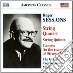 Quintetto per archi, quartetto n.1, 6 pi cd musicale di Roger Sessions
