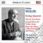 Chamber music cd musicale di Stefan Wolpe