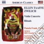 Concerto per violino, rituals (per 5 per cd musicale di Zwilich ellen taaffe