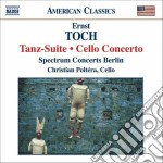 Toch Ernst - Tanz-suite Op.30, Concerto Per Violoncello Op.35 cd musicale di Ernst Toch