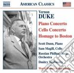 Concerto per pianoforte, concerto per vi cd musicale di Vernon Duke