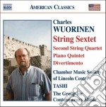 String sextet cd musicale di Charles Wuorinen