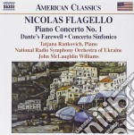 Concerto per pianoforte n.1, dante's far cd musicale di Nicolas Flagello
