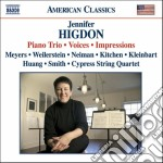 Trio con pianoforte, voices, impressions cd musicale di Jennifer Higdon