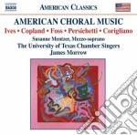 American choral music cd musicale di Vincent Persichetti