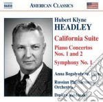 California suite; concerti per pianofort cd musicale di Headlay hubert klyne