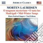 MUSICA CORALE                             cd musicale di Morten Lauridsen