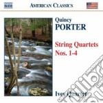 Quartetti per archi nn.1-4 cd musicale di Quincy Porter