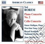 Concerto per pianoforte n.2, concerto pe cd musicale di Ned Rorem