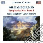 Sinfonia n.3, n.5; judith cd musicale di William Schuman