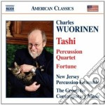 Tashi, percussion quartet, fortune cd musicale di Charles Wuorinen