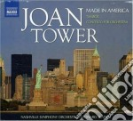 Made in america, tambor, concerto for or cd musicale di Joan Tower