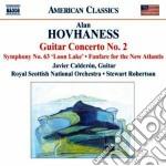 Concerto per chitarra n.2, sinfonia n.6 cd musicale di Alan Hovhaness