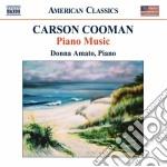 Cooman Carson - Piano Music cd musicale di Carson Cooman