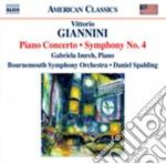 PIANO CONC. SINF. N. 4                    cd musicale di Vittorio Giannini