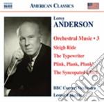 Musica per orchestra, vol.3 cd musicale di Leroy Anderson