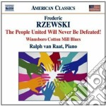 The people united will never be defeated cd musicale di Frederic Rzewski