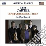 Quartetto per archi n.1, n.5 cd musicale di Elliott Carter