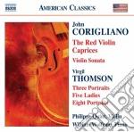 Corigliano John - Red Violin Caprices, Sonata Per Violino cd musicale di John Corigliano