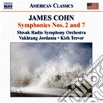 Sinfonie nn.2 e 7 cd musicale di James Cohn